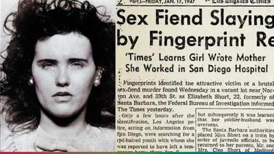 La terrible historia de 'La Dalia Negra', el asesinato de una mujer descuartizada que tiene 72 años sin resolverse