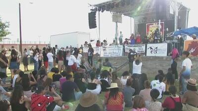 Con un festival, comunidad en El Paso hace un llamado para rechazar el racismo y odio contra los inmigrantes