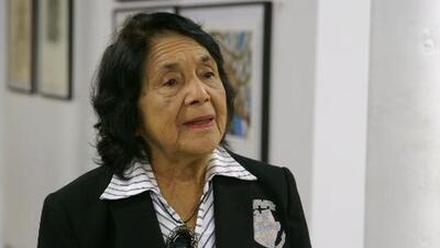 Dolores Huerta, la activista que empoderó a una generación