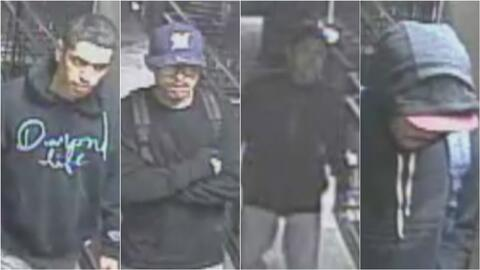 Policía de Van Nuys busca a cuatro sospechosos de robo a mano armada