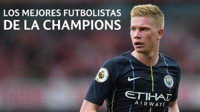 Los cinco mejores futbolistas de la Champions: Kevin de Bruyne