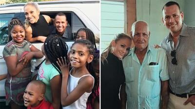 """JLo y A-Rod creen en el """"milagro"""" de la recuperación de Puerto Rico y estuvieron allí para impulsarlo"""