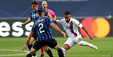 ¡En plan grande! Neymar igualó marca de Messi contra el Atalanta