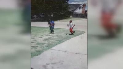 Tres jóvenes atacan con pistolas de aire comprimido a un padre hispano y a sus tres hijos pequeños