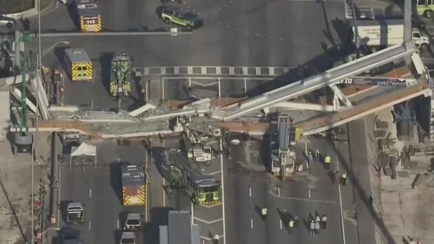 Víctimas de la tragedia ocurrida por la caída de un puente peatonal en Miami-Dade serán indemnizadas