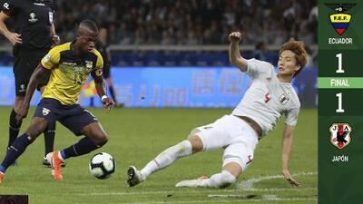 Triunfa Paraguay en empate entre Japón y Ecuador