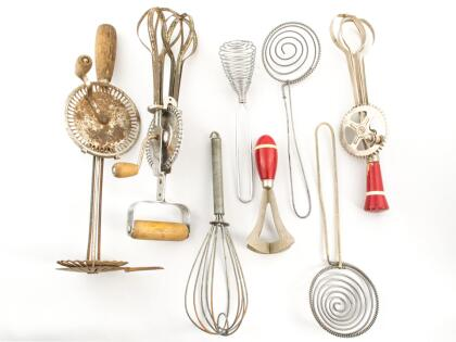 Así han cambiado los utensilios de cocina a través de los años ...