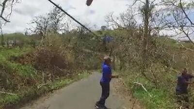 Apagón en Puerto Rico se percibe desde el espacio exterior
