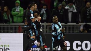Marsella derrota a Saint Etienne y sigue escalando posiciones