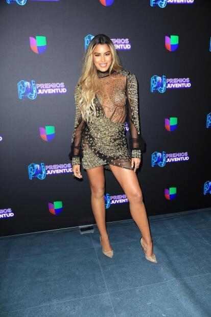 Otra que asistió a la fiesta del verano y dejó huella fue la colombiana  <b>Ariadna Gutiérrez</b>.