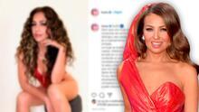 Las fotos recientes de Thalía junto a su mensaje empoderador generan opiniones encontradas