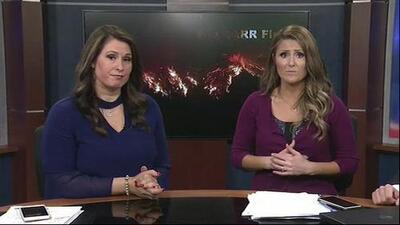 Estos presentadores tuvieron que evacuar la televisora por los incendios al norte de California