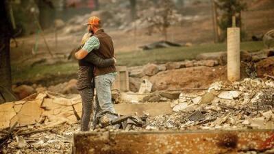 Mientras avanza la búsqueda de restos humanos, suben a 59 los muertos por los incendios en California