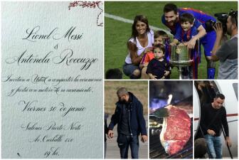 Los 15 datos que debes saber sobre la boda de Messi y Antonella