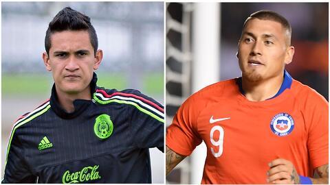Raúl Gudiño y Nico Castillo tuvieron su primer 'mano a mano' previo al México vs. Chile