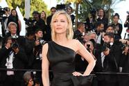"""CANNES, FRANCE - MAY 12: Jury president Cate Blanchett walk the red carpet in protest of the lack of female filmmakers honored throughout the history of the festival at the screening of """"Girls Of The Sun (Les Filles Du Soleil)"""" during the 71st annual Cannes Film Festival at the Palais des Festivals on May 12, 2018 in Cannes, France. Only 82 films in competition in the official selection have been directed by women since the inception of the Cannes Film Festival whereas 1,645 films in the past 71 years have been directed by men. (Photo by Pascal Le Segretain/Getty Images)"""