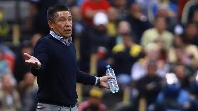 Ignacio Ambriz: ''Tuvimos fortuna de que América no nos anotara gol''
