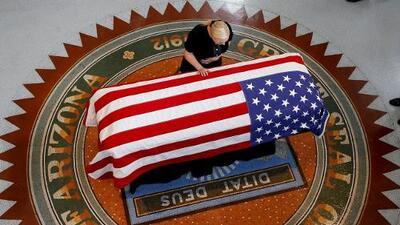 El emotivo tributo de la hija de John McCain en su homenaje en el Capitolio de Arizona