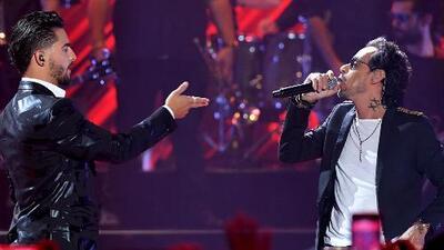 Maluma compuso el último tema de Marc Anthony 'Parecen Viernes'