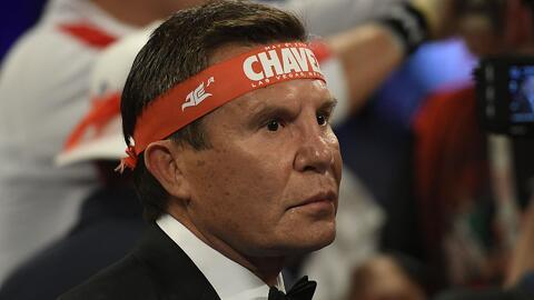Julio César Chávez retó a novio de su hija a pelear con él