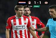 Sin Erick Gutiérrez, PSV empató con el FC Emmen