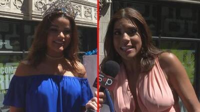 Clarissa Molina y Francisca Lachapel disfrutaron de la parada dominicana en Nueva York