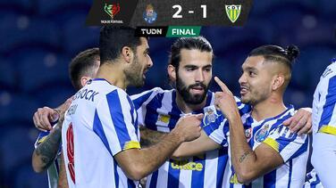 'Tecatito' Corona y Porto están en Octavos de la Taça de Portugal