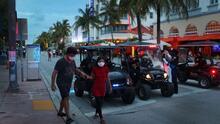 """Miami Beach refuerza la vigilancia para garantizar unas vacaciones de primavera de """"violencia cero"""""""