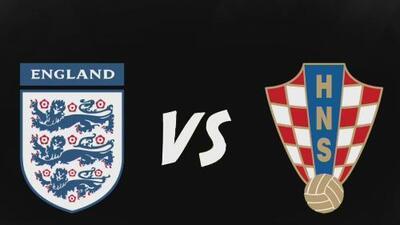 Inglaterra vs. Croacia, duelo inédito en mundiales por un cupo a la gran final de Rusia 2018