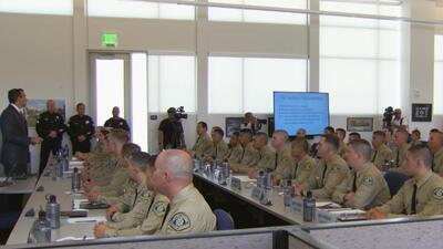 Nuevos agentes egresados de la academia de policía de San José