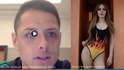 (Video) 'Chicharito' explica lo que pasó en controversial fiesta del Tri
