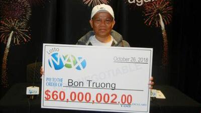Compró  los mismos números de lotería por 30 años hasta que la suerte le sonrió con 60 millones