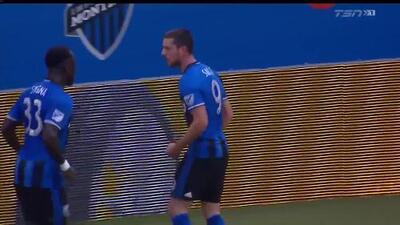 ¡Golazo! Alejandro Silva dispara entre cinco rivales y la manda a guardar, Montreal 2-0 Columbus