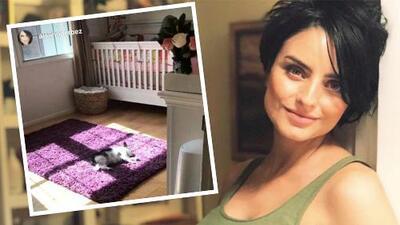 Aislinn Derbez ya tiene lista la habitación (y la cuna) del bebé