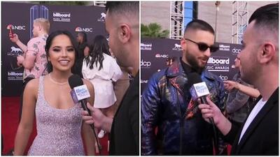 Billboard Music Awards: a Becky G se le hace extraño hablar solo en inglés y Maluma sufrió de calor