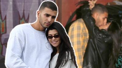 Mira cómo festeja Kourtney Kardashian un año de amor con su joven novio