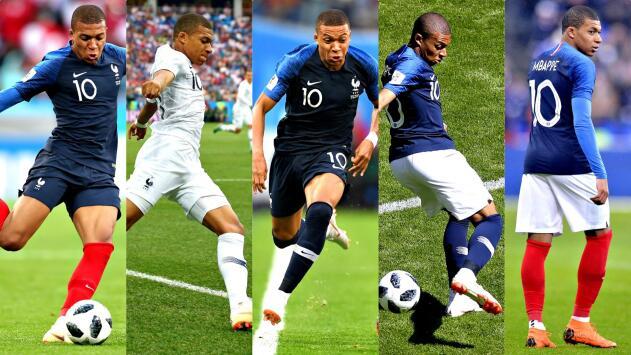 ¿La cábala de Francia? Combinó su uniforme para cada duelo que ha disputado del Mundial