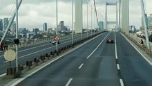 ¡Espectacular! Los F1 corren en histórico puente de Turquía