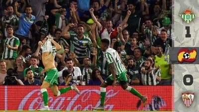 Con un gran partido de Guardado y un gol de Joaquín, Betis venció 1-0 a Sevilla en el clásico andaluz