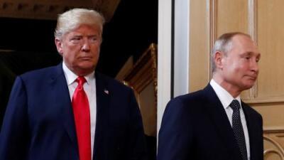 Trump vs. Trump: 6 versiones contradictorias sobre Rusia  que dio el presidente en menos de 10 días