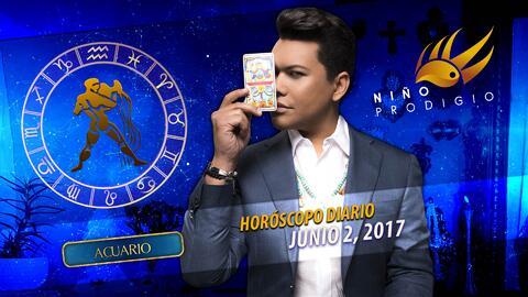 Niño Prodigio - Acuario 2 de junio 2017