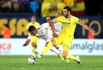 En fotos: Gareth Bale salva al Real Madrid con empate agónico ante Villarreal