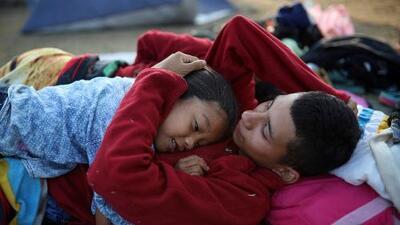 """El """"miedo a morir"""": la principal causa de las caravanas que buscan asilo en EEUU"""