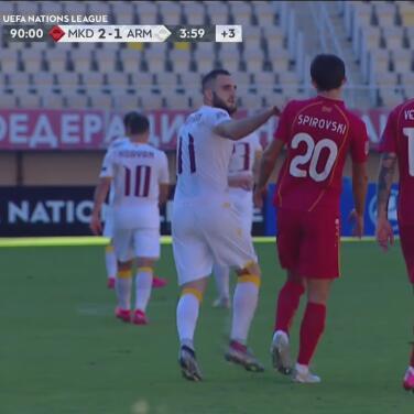 ¡Para el honor! Barseghyan anota para Armenia con un penal para conseguir el 2-1