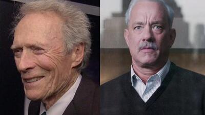 Clint Eastwood nos habló español en la premier de 'Sully', película que protagoniza Tom Hanks
