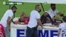 ¡Atlas empareja lesiones! Renato Ibarra no acaba el primer tiempo