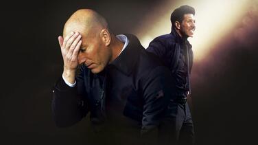 Real Madrid y Atlético deben los goles con Simeone y Zidane
