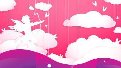El romántico mito de Cupido