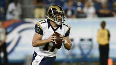 Case Keenum titular de los St. Louis Rams en lugar de Nick Foles