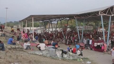 El paso de caravanas migrantes en el sur de México causa una fuerte sensación de inseguridad, según encuesta